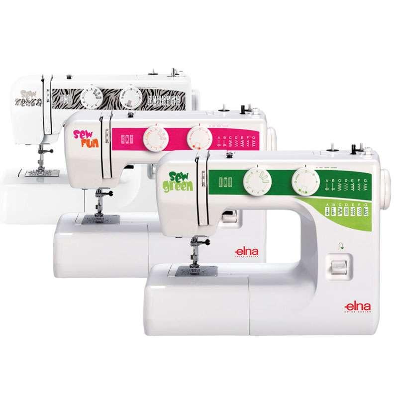 sew green máquinas de coser